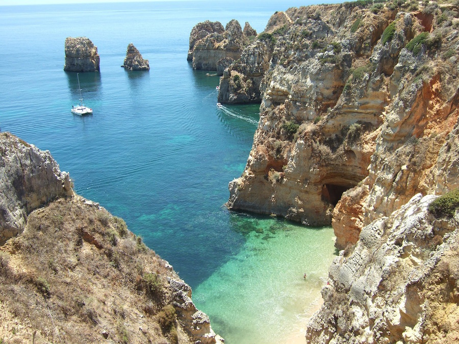 Turquoise sea view Portugal