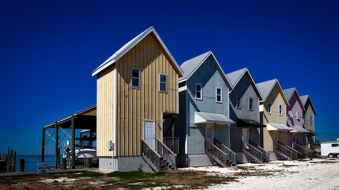 Beach cottages in Alabama